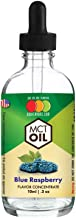 OOOFlavors Natural Blue Raspberry - MCT Concentrated Flavored Oil Unsweetened (10 ml)