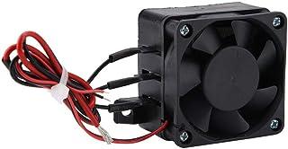 Calentador de aire,220V 12V / 24V 300W / 400W PTC Calentador de aire Espacio pequeño Temperatura constante Calefacción eléctrica para sólidos y gas(24V 400W)