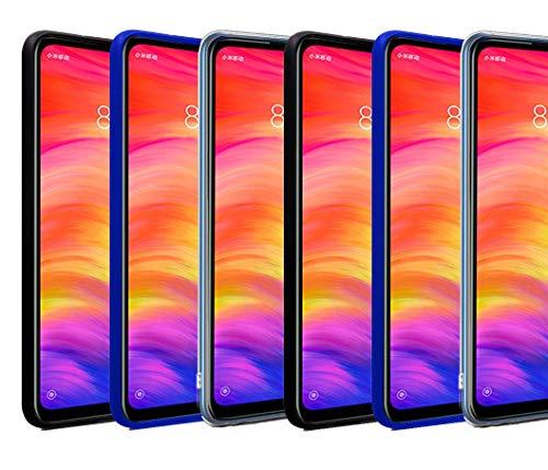 Wephone Accesorios Funda de Silicona TPU (Apple iPhone SE 2020, Negro)