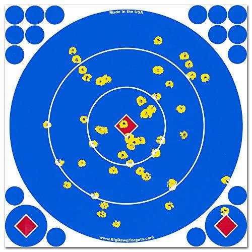 Big Dawg Targets - Adhesive 12 Inch Reactive Splatter Target - 100 Pack
