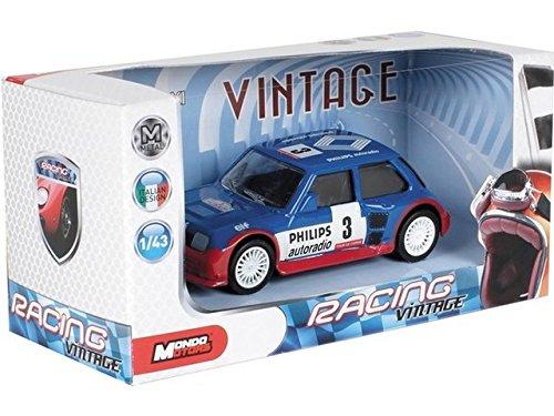 Mondo Motors - 53188/r5-11 - Véhicule Miniature - Modèle à l'échelle - Renault R5 Maxi Turbo - Tour De Corse 1986 - Echelle 1/43 (assorti)