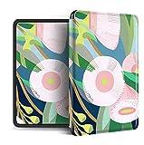 Funda para Kindle Paperwhite,Compatible con Kindle Paperwhite 4 Funda Trasera para Kindel Paperwhite 2019 Auto Sleep/Wake Smart Cover Flor De Planta Tropical Impresa, para No.J9G29R