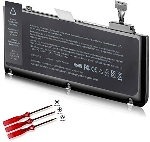 A1278 A1322 Battery Compatible with Apple MacBook Pro 13 inch Mid 2012 2010 2009 Early Late 2011 MD313LL/A MC374ll/A MD101LL/A MB990LL/A MC724LL/A MD314LL/A MC700LL/A MD102LL/A 661-5557 020-6765-A