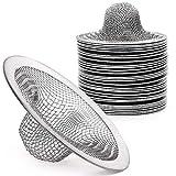 30Pack Sink Strainer Stainless Steel, 2.75' Top Slop Basket Filter Trap, Mesh Metal Sink Strainer Fits for Most Kitchen Sinks, Bathroom Sinks, Shower Drains, Wash Basin