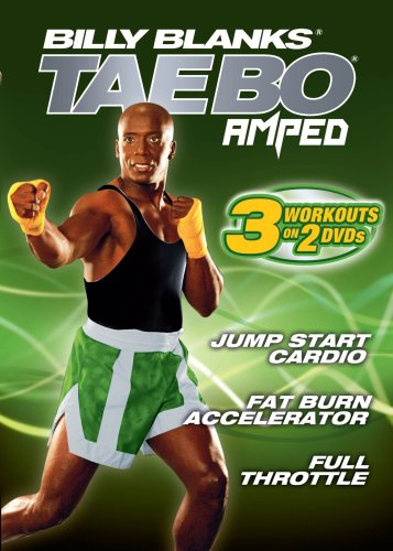 Tae Bo Amped: 3 Workouts price on Accelera Jump Fat Super popular specialty store Burn Cardio Start