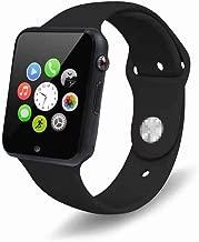 YOKEYS Bluetooth Smart Watch with Touchscreen Camera,Unlocked Watch Cell Phone with Sim Card Slot,Smart Wrist Watch,Smartwatch Phone for Android Samsung iOS iPhone X 7 8 6S Men Women Kids (G Black)