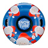 Leader Accessories 47Inch Inflatable Snow Tube Heavy Duty Freeze-Resistant,Large Snow Tubes with...