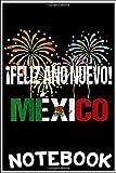 Notebook: Camiseta Mexico Happy New Year Feliz año Nuevo 2021 notebook 100 pages 6x9 inch by Tatden Dingu