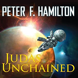 Judas Unchained                   Auteur(s):                                                                                                                                 Peter F. Hamilton                               Narrateur(s):                                                                                                                                 John Lee                      Durée: 40 h et 58 min     39 évaluations     Au global 4,8