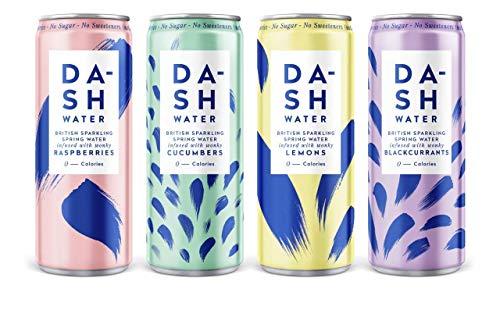 Dash Water - Variety Pack - Sparkling Water - 4 x Each...