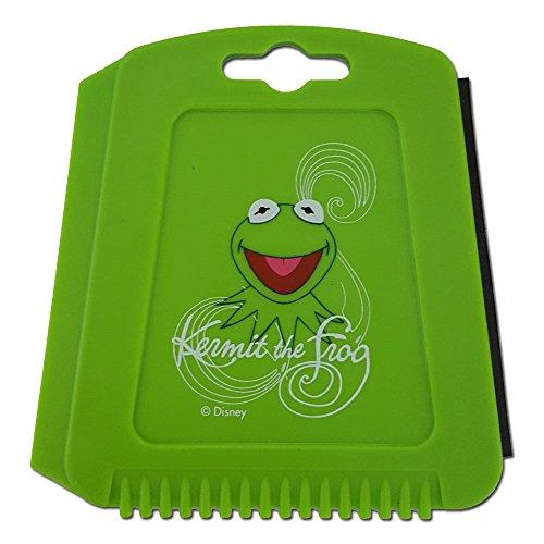 Muppets Auto Eiskratzer Eisschaber Kermit der Frosch Grün mit Gummilippe