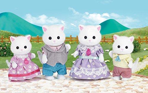 SYLVANIAN FAMILIES- Persian Cat Family Mini muñecas y Accesorios, Multicolor (Epoch para Imaginar 5216)