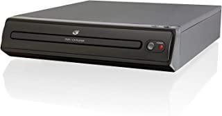 GPX D202B Compact Progressive Scan 2-Channel DVD Player with Remote Control (Black)
