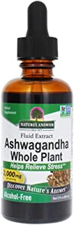 Nature's Answer Ashwagandha Root Extract 2 Fluid Ounce   Herbal Supplement Maintain Healthy Immune Function   Supports Bod...