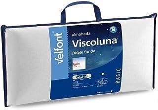 Velfont - Almohada Viscoluna 90, Blanco
