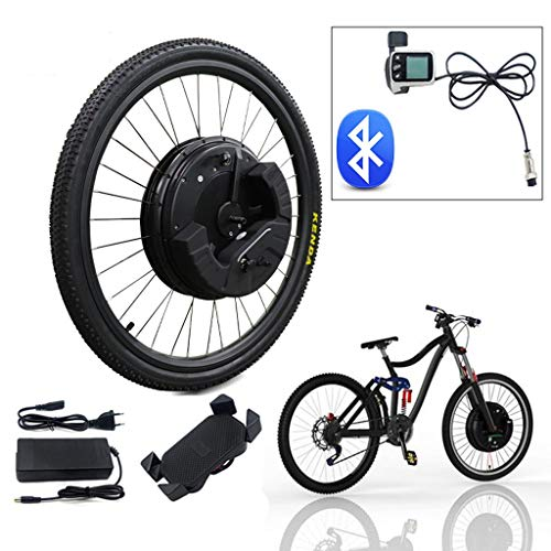 LiRongPing 36V350W Electric Bike Conversion Kit D Brake V Brake Powerful Imotor Bike Kit 24 26inch Wheel 700C Bicicleta Eletrica (Color : V APP Control, Size : 27.5 in)