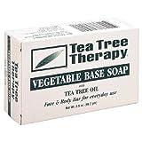 Tea Tree Therapy - Jabón a base de verdura con aceite del árbol del té - 3.9 oz.