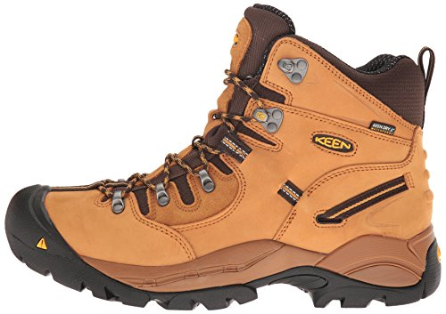 KEEN Utility Men's Pittsburgh Industrial & Construction Shoe, Wheat, 9.5 D US