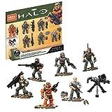 Mega Construx Halo UNSC Marine Platoon Pack Construction Set, Building Toys for Kids