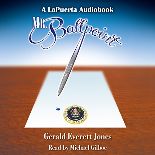 Mr. Ballpoint audiobook cover art