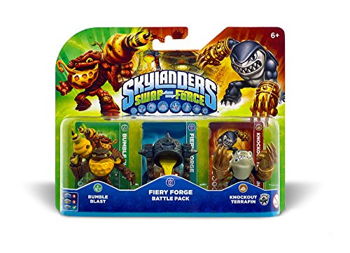 Skylanders Swap Force - Battle Pack (Bumble Blast, Terrafin, Caultron)