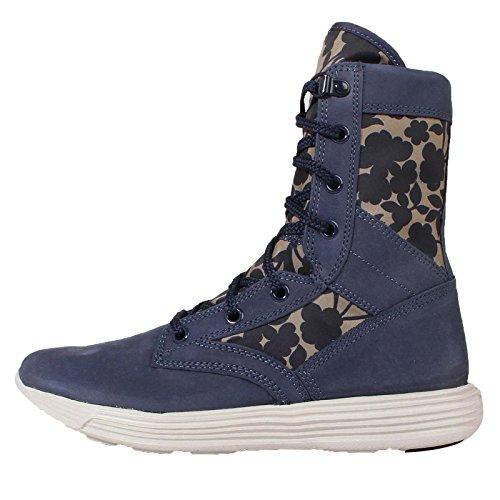 Nike Womens Lunaracer SFB LIB QS Hi Top Boots 821781 Sneakers Shoes (US 8.5, Azul (Obsdn/Grn GLW-CRG Khk-Lt Bg Ch 433)