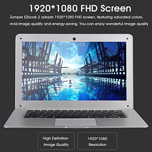 Jumper Ezbook 2 – 14 Zoll Windows10 Notebook Intel Cherry Trail Bild 3*