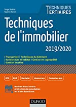 Techniques de l'immobilier 2019/2020 de Serge Bettini