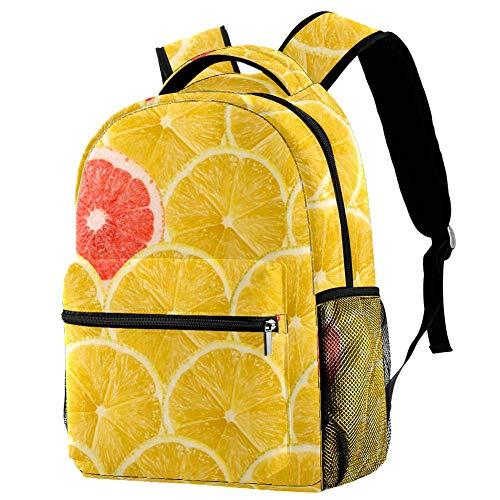 Mochila de anclajes azul marino mochila escolar bolsa de libro mochila casual para viajes, estampado 5, Talla única, Mochila de a diario
