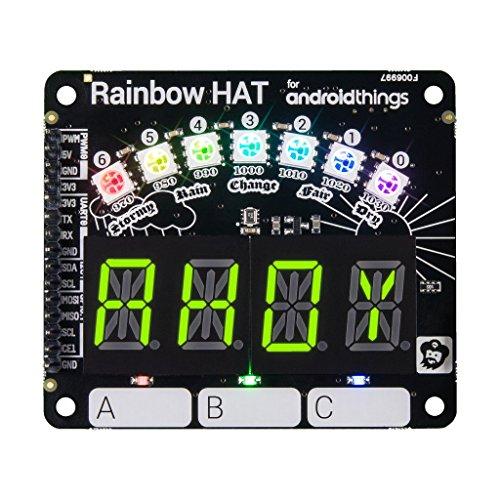 Pimoroni Rainbow Hat para Android Things™ y Raspberry Pi