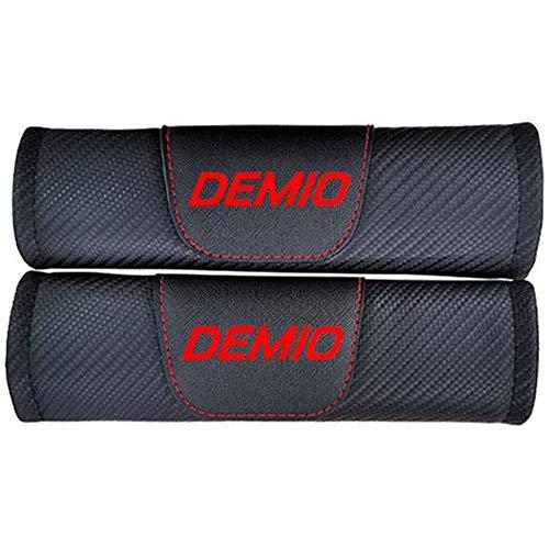 WMAID 2 Piezas Fundas De ProteccióN Acolchado De Seguridad AutomóVil, para Mazda Demio, Almohadillas para CinturóN Hombro, Cojines La Correa
