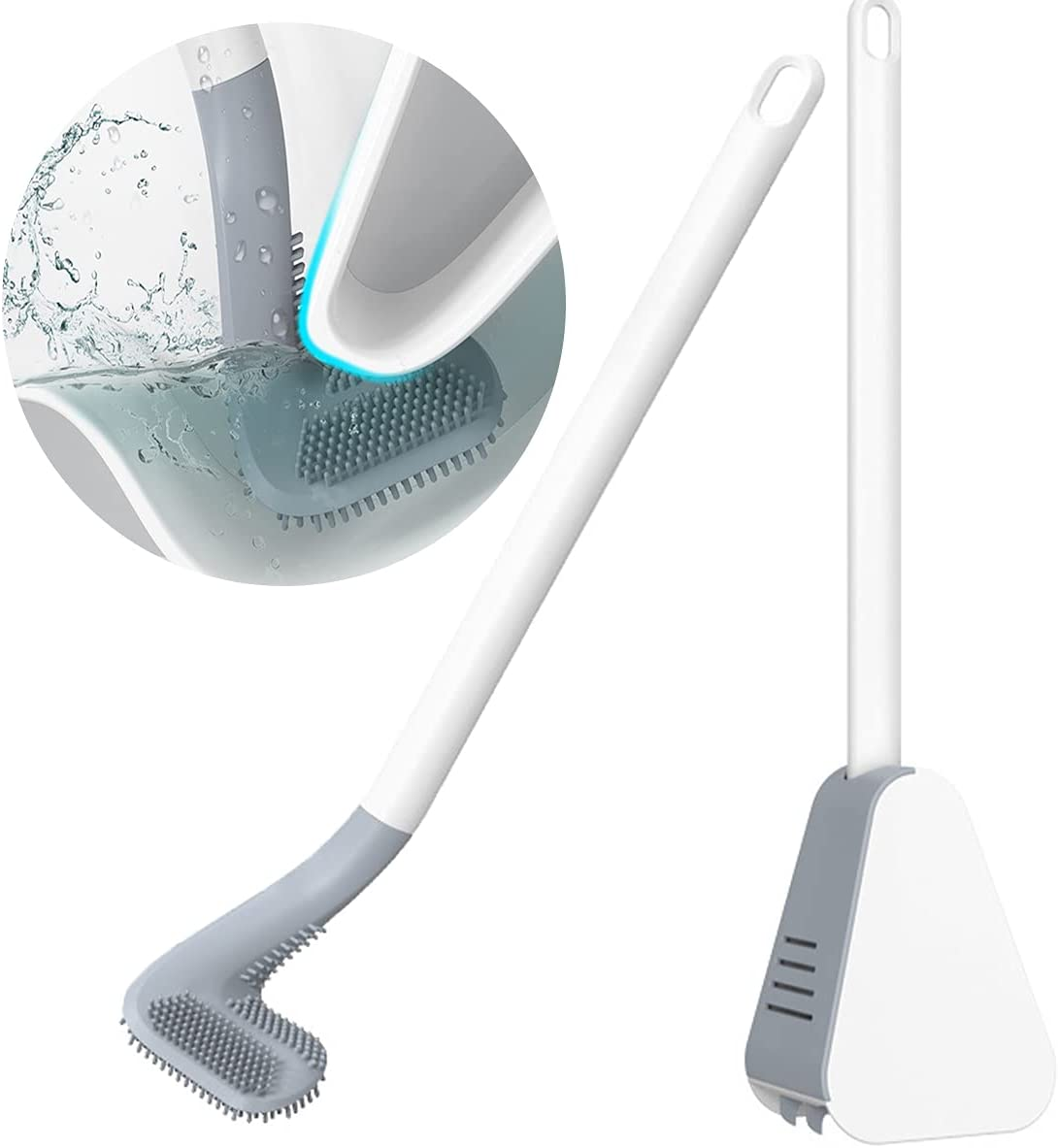 Silicone Toilet Brush Cleaner Bowl Popular popular Golf Be super welcome Holder and Toi Set