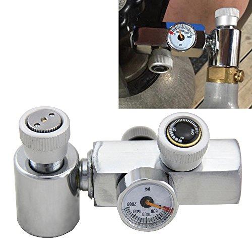 Mangobuy Adapter zum Nachfüllen von SodaStream CO2-Zylinder, Verbindungsstück für Zylinder von Soda Stream