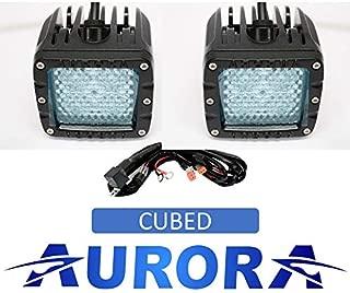 Aurora - 3 Inch Off Road LED Cube Light - 3,880 Lumens - 40w - w/Diffusion Beam