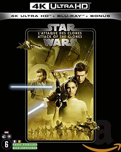 STAR WARS Episode II - L'ATTAQUE DES CLONES (2019) - Blu-ray 4K [4K Ultra HD + Blu-ray + Blu-ray Bonus]