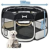 Mcdear Plegable Parque Mascota de Juego Fabric Pet Pen...