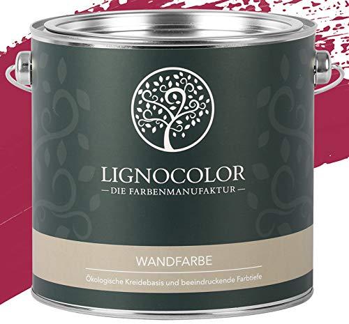 "Lignocolor Wandfarbe ""Raspberry"" edelmatt"