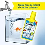 TETRA AquaSafe - Conditionneur d'Eau Naturel pour Poissons tropicaux -Agit en 5 mn - Eau Douce et Eau de Mer - Anti-Chlore - 250 ml #1