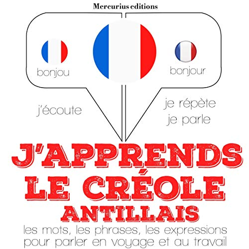 Couverture de J'apprends le créole antillais