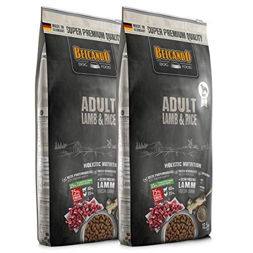 Belcando 2 x 12,5 kg Adult Lamb & Rice - Lamm & Reis Sparpaket