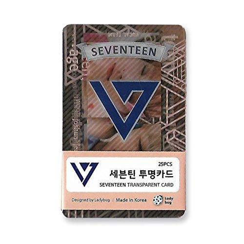 SEVENTEEN - TRANSPARENT PHOTO CARDS 25pcs [FAN GOODS]
