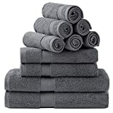 Bedsure Bath Towels Sets for...