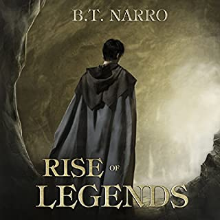 Rise of Legends (The Kin of Kings: Book 2)                   Written by:                                                                                                                                 B.T. Narro                               Narrated by:                                                                                                                                 Brad C. Wilcox                      Length: 11 hrs and 15 mins     2 ratings     Overall 5.0