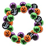 6 Dozen (72) Bright Halloween Bouncing Balls 1'; Perfect for Trick or Treat; Classroom Giveaways; Party Favors; by Fun Express