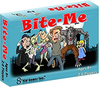 Bite-Me - New Card Game - Kids, Teens, Adult, Family or Party Game-Werewolves, Vampires, and Zombies