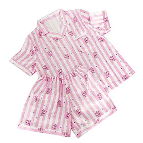 MIFIN Stampato Pigiama Due Pezzi Set Summer Pyjama Set (Cooky, S)
