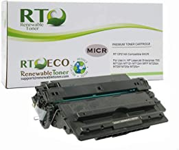 Renewable Toner Compatible MICR Cartridge Replacement for HP 14A CF214A Laserjet M712 MFP M725