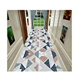 Siunwdiy Moderno alfombras alfombras Diamond, D'Long Gone alfombras patrón geométrico, 100% Poliamida, Corredores, Salón, pasaje, Muchos tamaños,A,1.2 * 2m