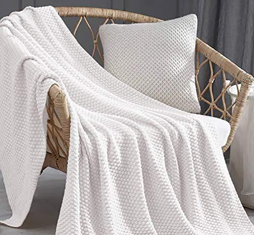 Mantas Sofa Blancas mantas sofa  Marca HaraDeco