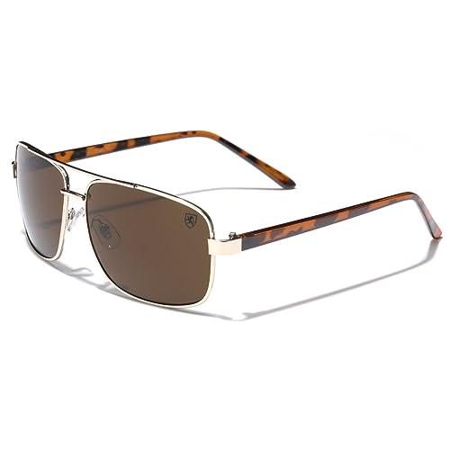 b6ca2f183c Square Retro 80s Aviator Sunglasses Men s Women s Metal Fashion Glasses  Black Gold Silver Gray